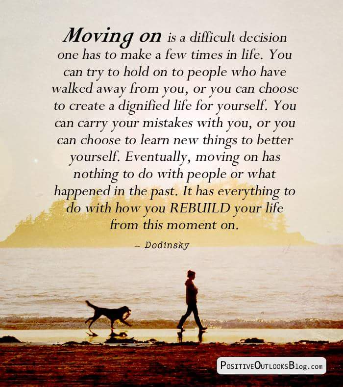 Moving Forward towards Being Fully You