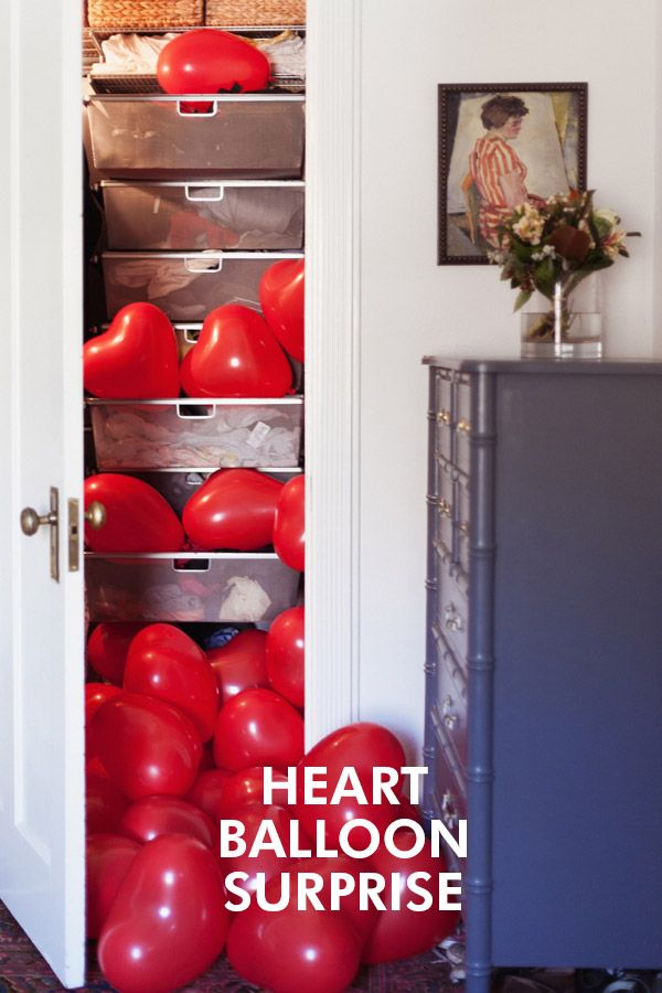 Celebrating Valentine's in the Closet